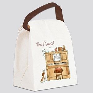The Pianist Canvas Lunch Bag