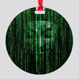 All Your Bytes Are Belong To Us Round Ornament