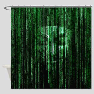 All Your Bytes Are Belong To Us Shower Curtain