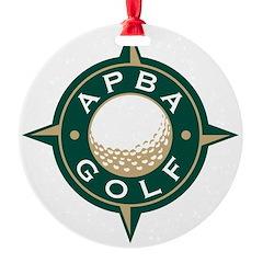 APBA Golf Ornament