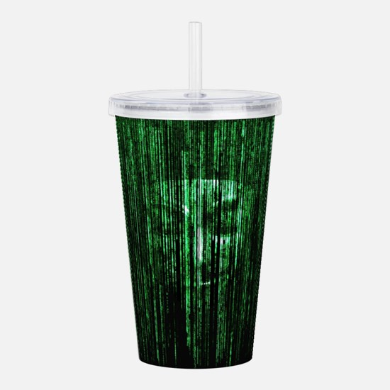 All Your Bytes Are Bel Acrylic Double-wall Tumbler