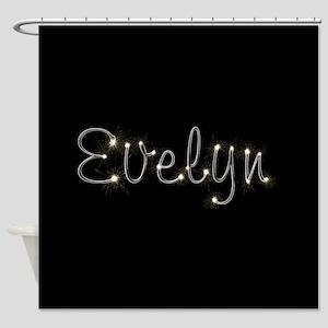 Evelyn Spark Shower Curtain