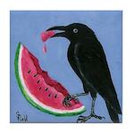 Crow & Watermelon Tile Coaster