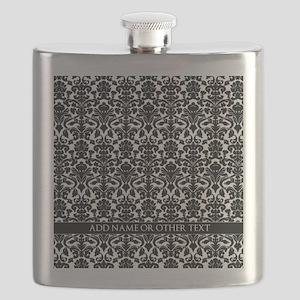 damask pattern custom Flask