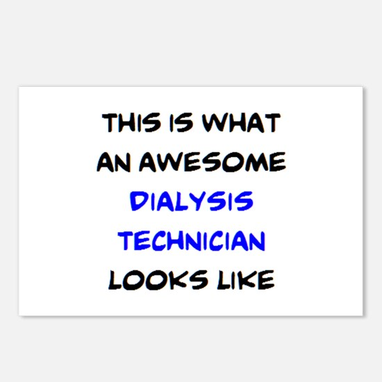 awesome dialysis technici Postcards (Package of 8)
