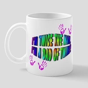 Twice the Man Mug