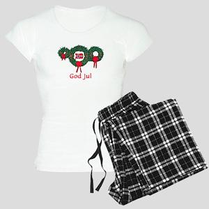 Norway Christmas 2 Women's Light Pajamas