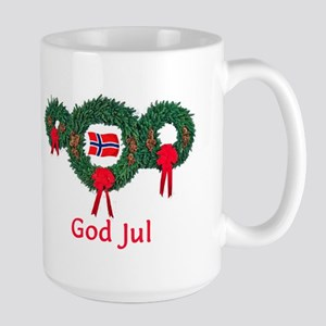 Norway Christmas 2 Large Mug