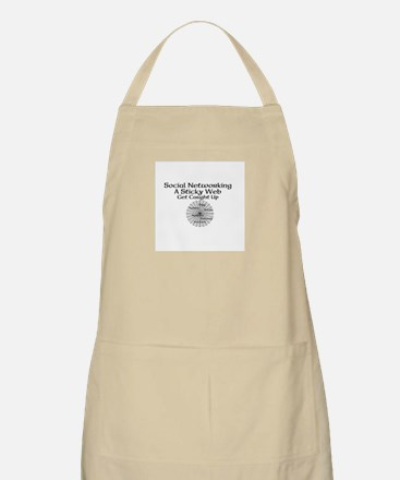 Social Networking A Sticky Web Get Caught Up Apron