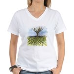 As Above So Below #11 Women's V-Neck T-Shirt