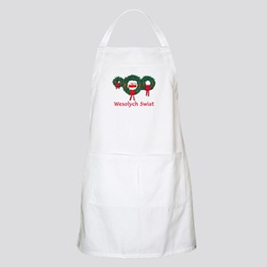 Poland Christmas 2 Apron