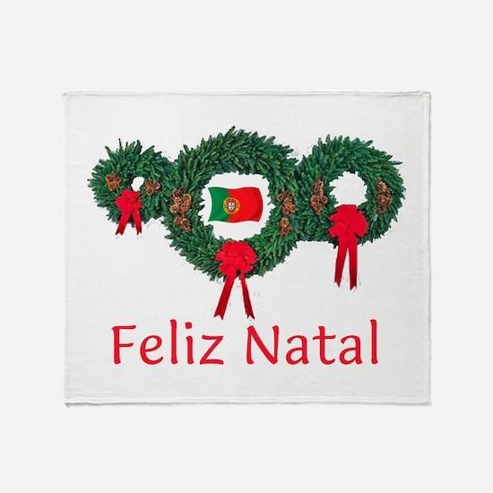 Portugal Christmas 2 Throw Blanket