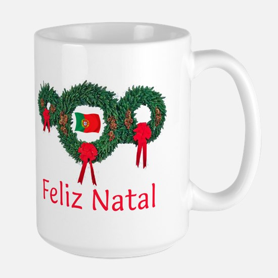 Portugal Christmas 2 Large Mug