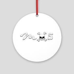MX5 Skull Ornament (Round)