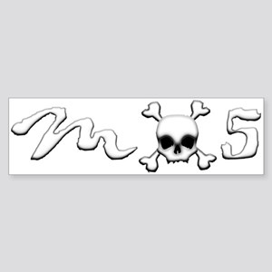 MX5 Skull Sticker (Bumper)