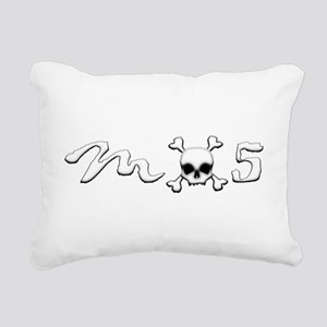 MX5 Skull Rectangular Canvas Pillow