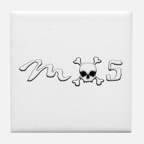 MX5 Skull Tile Coaster