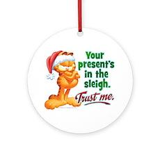 Trust Me Ornament (Round)