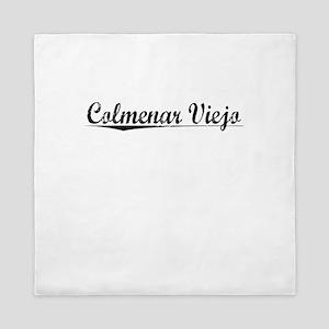 Colmenar Viejo, Aged, Queen Duvet