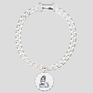 Macs Rule! Charm Bracelet, One Charm