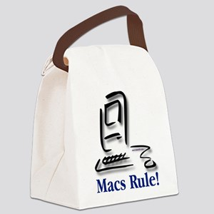 Macs Rule! Canvas Lunch Bag