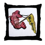 New Orleans Style Throw Pillow