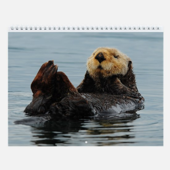 Cute Animals Wall Calendar