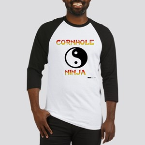 Cornhole Ninja Baseball Jersey