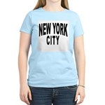 New York City Women's Pink T-Shirt