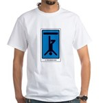 The Hanged Man White T-Shirt
