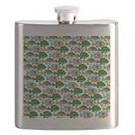 School of Sunfish fish Flask