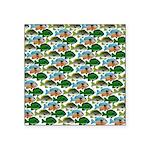 School of Sunfish fish Square Sticker 3