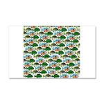 School of Sunfish fish Car Magnet 20 x 12