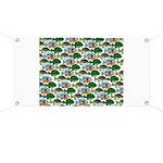 School of Sunfish fish Banner