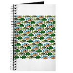 School of Sunfish fish Journal