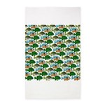 School of Sunfish fish 3'x5' Area Rug