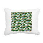 School of Sunfish fish Rectangular Canvas Pillow
