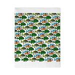 School of Sunfish fish Twin Duvet