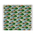 School of Sunfish fish Throw Blanket