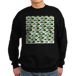 School of Sunfish fish Sweatshirt (dark)