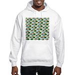 School of Sunfish fish Hooded Sweatshirt