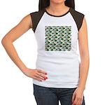 School of Sunfish fish Women's Cap Sleeve T-Shirt