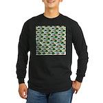 School of Sunfish fish Long Sleeve Dark T-Shirt