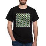 School of Sunfish fish Dark T-Shirt