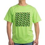 School of Sunfish fish Green T-Shirt