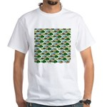 School of Sunfish fish White T-Shirt