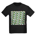 School of Sunfish fish Kids Dark T-Shirt