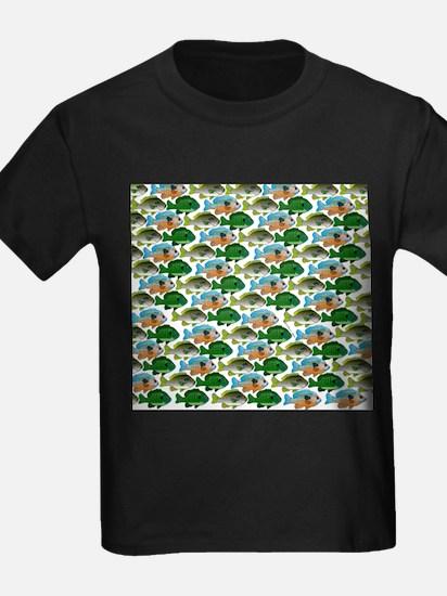School of Sunfish fish T