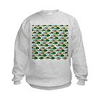 School of Sunfish fish Kids Sweatshirt