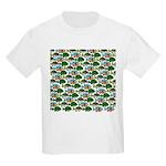 School of Sunfish fish Kids Light T-Shirt